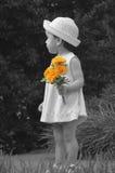 Blumenmädchen Stockfotos