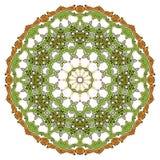Blumenmandalen Dekorative Elemente der Weinlese Orientalisches Muster im Stil des Islams, Arabisch, Inder, das Türkische, Pakista Stockbild