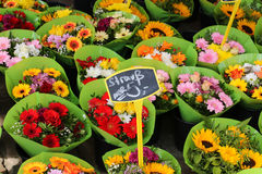 Blumenmarkt Lizenzfreie Stockfotos