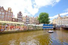 Blumenmarkt in Amsterdam u. in x28; Bloemenmarkt& x29; Stockbild