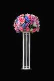 Blumenmischung auf hinterem Hintergrund Stockfotos