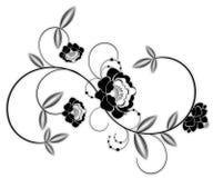 Blumenmuster stock abbildung
