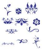 Blumenmuster Lizenzfreies Stockfoto