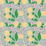 Blumenmuster Stockfotografie