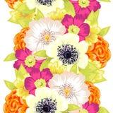 Blumenmuster Stockbild