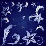 Blumenmuster Lizenzfreie Stockfotografie