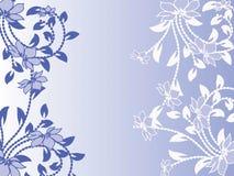 Blumenmuster dekorativ Stockfoto