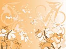 Blumenmuster dekorativ Stockfotos