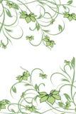 Blumenmuster dekorativ Stockbilder