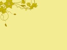 Blumenmuster dekorativ Lizenzfreies Stockfoto