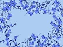 Blumenmuster dekorativ Stockbild