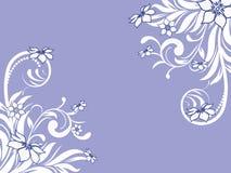 Blumenmuster dekorativ Lizenzfreie Stockbilder