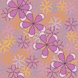 Blumenmuster der nahtlosen Kunst Stockbild