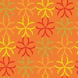 Blumenmuster der nahtlosen Kunst Lizenzfreie Stockfotos