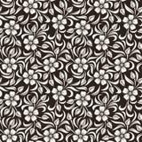 Blumenmuster der nahtlosen Weinlese. Lizenzfreies Stockfoto