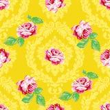 Blumenmuster der vektornahtlosen Weinlese Lizenzfreies Stockfoto