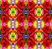 Blumenmuster des abstrakten bunten Hintergrundes Lizenzfreie Stockfotografie