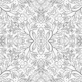 Blumenmuster des nahtlosen Entwurfs Stockfoto