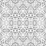 Blumenmuster des nahtlosen Entwurfs Stockfotografie