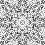 Blumenmuster des nahtlosen Entwurfs Stockbilder