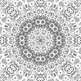 Blumenmuster des nahtlosen Entwurfs Stockbild