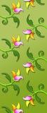 Blumenmuster/Druck Lizenzfreies Stockfoto