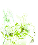 Blumenmuster grunge Wachstum-Naturbasisrecheneinheit Stockfoto