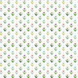 Blumenmuster mit 8 Bits Stockbilder