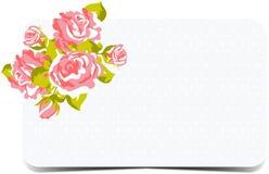 Blumenmuster mit Rosen vektor abbildung
