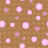 Blumenmuster nahtlos Stockfoto
