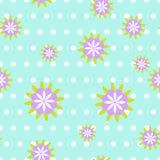 Blumenmuster nahtlos Lizenzfreies Stockfoto