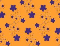 Blumenmuster. Vektor. Lizenzfreie Stockbilder