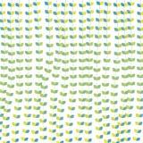 Blumenmuster verlässt abstraktes nahtloses blaues Grün Stockfoto