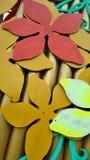 Blumenmusterdesign Lizenzfreies Stockbild