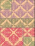 Blumenmusterhintergrund Stockbilder