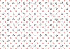 Blumenmustervektor des kleinen Sterns Stockfotografie