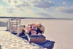 Blumennoch Lebensdauer Lizenzfreie Stockbilder