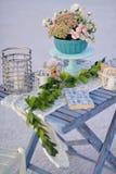 Blumennoch Lebensdauer Lizenzfreies Stockfoto