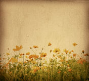 Blumenpapier Lizenzfreie Stockfotografie