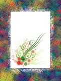 Blumenpapier Lizenzfreies Stockfoto