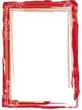 Blumenpastell des roten Feldes Stockbilder