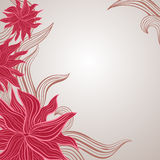 Blumenpastellhintergrund Lizenzfreies Stockbild