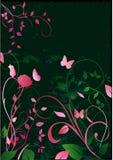 Blumenphantasie lizenzfreie abbildung
