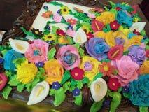 Blumenphantasie Stockbild