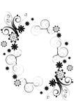 Blumenrand Lizenzfreies Stockbild