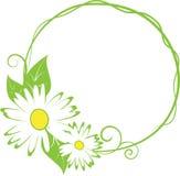 Blumenrand des lustigen Frühlinges. Stockbilder