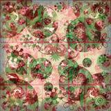 Blumenraserei-schäbiger Hintergrund Lizenzfreie Stockfotos