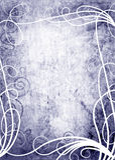 Blumenraster grunge Hintergrund Stockbilder