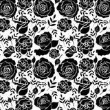 Blumenrosen-Muster-Elemente für Design Stockfotos