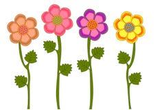 Blumensammlung Lizenzfreies Stockfoto
